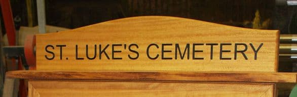 Made to Measure Iroko  Wood  Signs | The Sign Maker Shop
